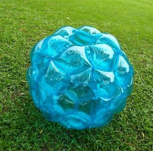 Plage de pare-chocs de 60 cm jeu amusant enfants jouet boule de l'eau gonflable en plein air jouet en PVC boules de roulement pare-chocs de balle Zorbing
