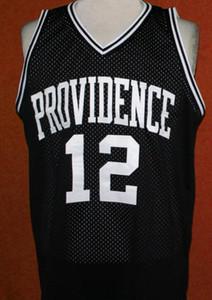 Donna-Uomo della gioventù # 12 God Shammgod Providencee College Basketball Jersey il formato S-4XL o personalizzato qualsiasi nome o numero di maglia
