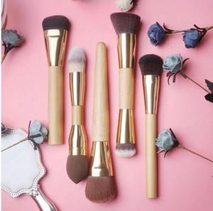Bambus Make-up Pinsel Frau Bambus Griff Gesichtsmaske Pinsel Foundation Pinsel Kosmetik bilden Bürsten-Kits Tool GGA3011