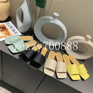 Summer 2020 new high-quality luxury ladies fashion single shoes slippers sandals casual shoes fashion casual wild fdzhlzj