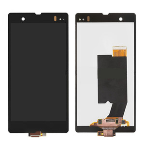 LCD with Touchscreen for Sony C6602 L36h Xperia Z C6603 L36i L36a Xperia Z C6606 LCD display screen Digitizer Glass Panel Front