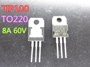 20pcs lot New Triode Transistor TIP100 TO220 8A 60V in stock free shipping
