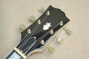 Freies Verschiffen Musikinstrumente, die akustische elektrische Gitarre kundenspezifisches Chaylor Ebenholzgriffbrett mit fnishing sind