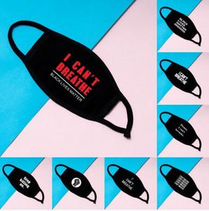 Ben Yetişkin DHL Kargo için Stok Yıkanabilir Pamuk Maskeler yılında Kara Hayatlar Matter Maskeler Moda Tasarımcısı Maske Yüz Maskesi Breathe Cant