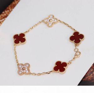 Роскошное качество красный агат и бриллиант для женщин браслет ювелирных изделий подарка партии горячего сбывания свободная перевозка груза PS3442