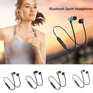 XT11 wireless bluetooth 4.1 magnetic inear headset stereo sports headphones with build-in mic for iphone x samsung s8 s9 plus
