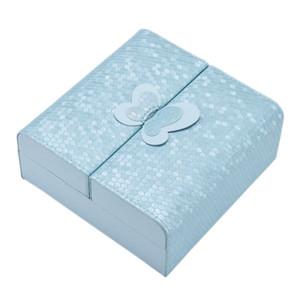 Portable Jewelry Box Fashion Leather Jewelry Storage Box
