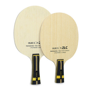 Huieson Professional Table Tennis Training Blade ZLC 5 Plywood 2 Ply ZL Carbon Fiber Ping Pong Blade for Table Tennis Racket DIY T190927