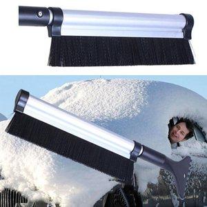 Spazzola di rimozione pennello spazzaneve all'ingrosso Strumento di pulizia auto invernale 65 centimetri di design creativo auto estensibile veicolo raschietto ghiaccio neve DH0364