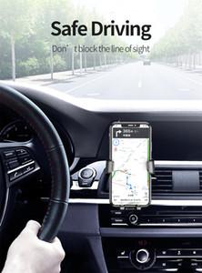 Populaires pièces automobiles Aucun porteur de gravité magnétique en voiture Air Vent Support à pince téléphone portable stand