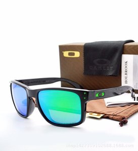 Óculos polarizados Designer Holbrook Sunglasses Óculos Fashion For Men exterior Windproof Goggles Com Box OK9102 Top Quality