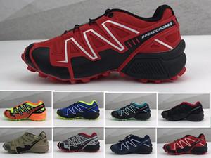 Scarpe scarpe Zapatos Hombre Speed Cross 3CS III Sport Bambini Bambino Athletic regalo di compleanno Speedcross Sneakers 30-35 Cheap bambini che corrono