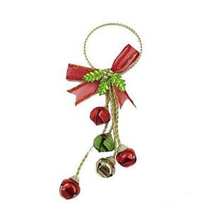 Nueva campana de Navidad adornos adornos del árbol de hierro decoración de adornos de Navidad de galvanoplastia HH9-A2581
