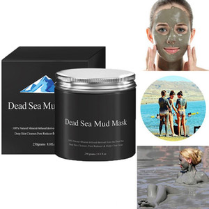 Women Dead Sea Mud Mask Face Skin Care Facial Treatment 250g Pure Body Naturals Beauty Pore Face Cleaner