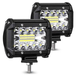 120W Luci del lavoro 4 Luce pollici LED BACCELLI, luci a LED per le automobili, Light Bar Combo Fascio cubo di guida del lavoro del LED Off Road Tri-Row Da