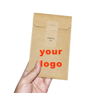 washable kraft paper storage bag envelop file bag Portfolio recycle gift bags environment-friendly accept customized LOGO