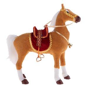 Simulation Naturgetreue Tiermodell Figuren und Statuen verziert Simulation Naturgetreue Tier Pferd, Huhn, Ente Modell