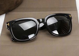 Lujosa calidad superior Nueva moda 211 Tom Gafas de sol para hombre Mujer Erika Gafas ford Diseñador de la marca Gafas de sol con caja original 669