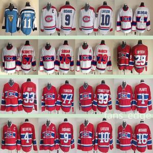 Montréal Canadiens Winter Classic # 29 Ken Dryden 26 Mats Naslund 93 Stanley Cup 76 P.K. Subban 79 Andrei Markov الرجال الجليد الهوكي جيرسي
