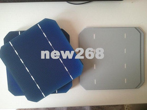 Freeshipping, 100pcs 모노 태양 전지 5x5 2.65W.Grade A, DIY 솔라 패널, 단결정 태양 전지 + 충분한 탭 와이어 바