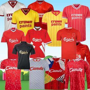 2020 RUSH Gerrard 1985 RETRO Jersey di calcio 2005 Crouch Morientes torres camicia 85 86 11 12 04 05 89 91 di calcio Alonso tee