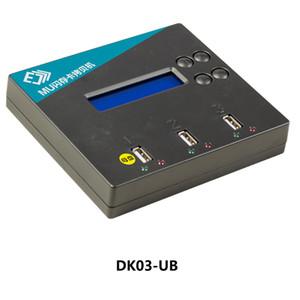 1V2 USB TF- / SD- / CF-Karten-Duplikatorformat Cope Erase Compare-Funktion