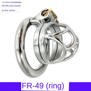Stainless Steel Chastity Lock Men's Cb Masculine Cage Jj Penis Birdcage Sm Toy