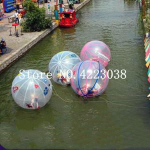 Su Topu On The Water Ücretsiz Kargo 2m TPU Malzeme Yürüyüşü Toplar Su Zorb-Ball Şişme İnsan Hamster Topu Walking