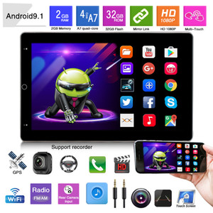 New Car DVD Player 7 Inch Universal Android Car Navigation 1And2 Din 10.1 Inch Universal Electric Rotating Screen Shaking Head Machine