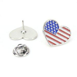 Carino bandiera forma spilla pin World Map spilla soddisfare cappotto colletto della camicia Pins per la donna regalo Man