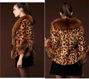 Women Fashion Desigenr Faux Fur Coat Thickened Warm Ladies Raccoon Faux Fur Outwear Casual Long Sleeve Women Clothing