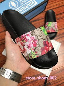 xshfbcl Summer Men Women Sandals Designer Shoes Luxury Slide Best Fashion Wide Flat Slippery Sandals Slippers Flip size 35-45 flower