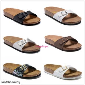 Madrid New Summer Beach Cork Slipper Flip Flops Sandals Women Mixed Color Casual Slides Shoes Flat 801 Free Shipping US3-10