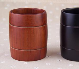 Panzone Beer Cup di legno boccali intagliato classico tre-line della tazza di tè classica Benna della birra pranzo Coppe Bar Bicchieri da tavola