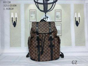 0112 78 Diseñador Mochila Mujeres de lujo bolsos del diseñador bolsos de piel del hombro del bolso del bolso mochila grande