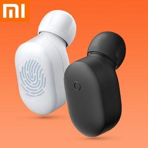 En Stock Xiaomi Bluetooth 5.0 para auriculares, TWS para auriculares inalámbricos redmi Airdots, reducción de ruido del altavoz Auriculares para iPhone, Huawei