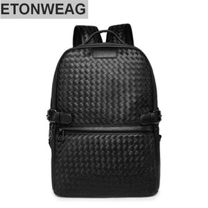 famous designer Origi Wind leisure knitting factory wholesale brand mens bags college backpack traveling fashion retro contracted brand leat