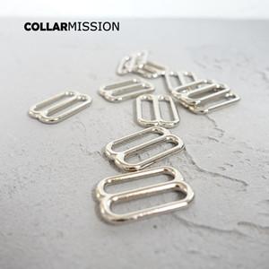 100pcs / lot de réglage de boucle Retailing curseur pour l'environnement sacs de ceinture à coudre 25mm accessoire bricolage de haute qualité boucle en métal plaqué BZK25Y