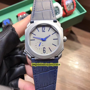 3 Stil Octo Finissimo BGO40C14TTXTAUTO / L 102945 Grau Dial Stahl Fall Miyota Automatik Herren-Uhr-Gummibügel-Sport Uhrqualitäts