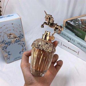 Moda unicornio Pefume para las mujeres colonia natural de tiempo hermoso diseño fragancia de larga duración 75 ml envío libre de DHL.