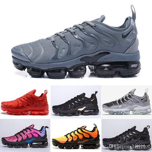 Best TN Plus Running Shoes Men Women Wool Grey Game Royal Tropical Sunset Creamsicle Sneakers Sport Shoes Size 36-45 MT8M