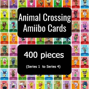 400 Animal Crossing Card Amiibo Card Full Set (Series 1 to Series 4) fast shipping