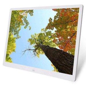15,4-дюймовый HD Digital Photo Frame MP3 MP4 Тревожные Movie Player Фото фоторамки Цифровые фото рамки T200320