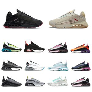 Nike air max 2090 airmax Stock X 2090 Mens Running shoes Duck Camo Clean White Black 2090s Pure Platinum Photon Dust men women trainers Run sports designer sneakers