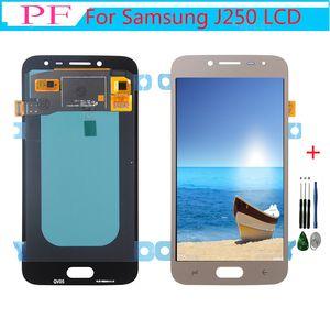 OLED дисплей для Samsung Galaxy J250 Lcd J2 Pro J250M J250F Lcd J2 2018 Дисплей Сенсорный экран Digitizer Ассамблеи + инструмент