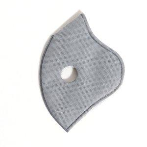 2020 spor Yüz için Chip Filtre PM2.5 REMPLACEMENT Filtre Bezi takın 5 katmanlı Koruyucu Anti-sis Haze Toz geçirmez nefes alabilen Maskesi