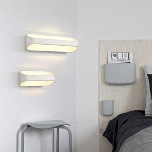 5W 10w 15w llevó la luz caliente de la lámpara de pared para el aluminio moderno de la iluminación de pared del dormitorio del sitio de la cama de la sala de estar led