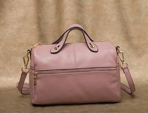 Diseñador-Boston Europea y gran bolsa grande del bolso de la capacidad de la moda estadounidense de 2019 nuevas mujeres del hombro portátil bolsa colgada
