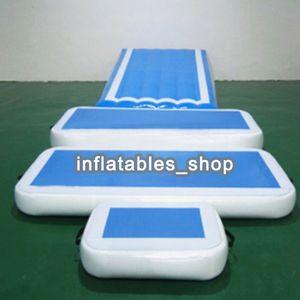 Freies verschiffen Eine Reihe Von Aufblasbaren Gym Air Track Ausrüstung Set (Air Ramp + Air Box + Track Connect + Pumpe)
