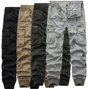 Mens Camouflage Tactical Cargo Pants Men Joggers Boost Military Casual Cotton Pants Hip Hop Ribbon Male army Trousers